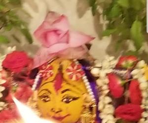 Rangoli: SriVaraLakshmiDevi  Pooja Kalasam
