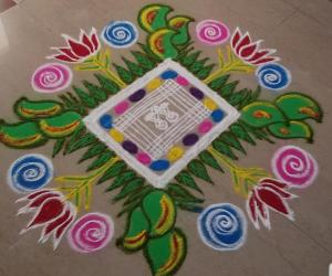 Happy New Year Best Rangoli 80