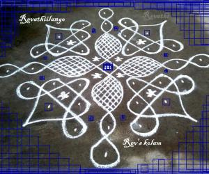 Rangoli: Rev's daily chikku new