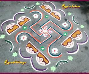 Rangoli: Rev's daily kolam 3