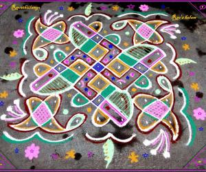 Rangoli: Rev's easy chikku 17.