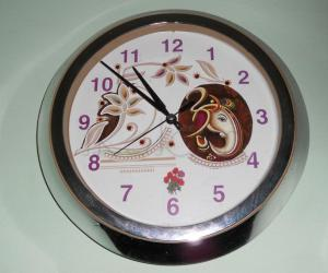 Modification in wall clock.