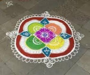 Varalakshmi Nonbu kolam