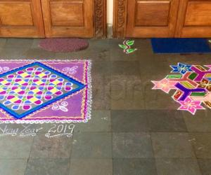 Neighbors kolam
