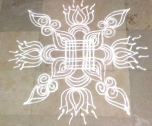 Saturday kolam