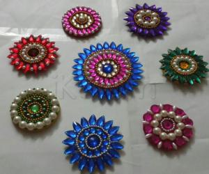 Multicolour rangoli