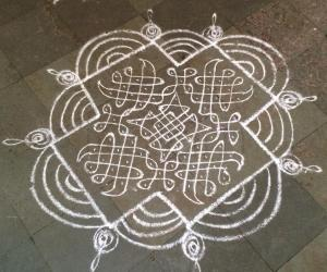 Simple kolam