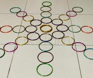Bangle kolam