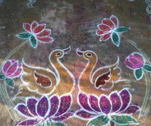 Rangoli: Ducks