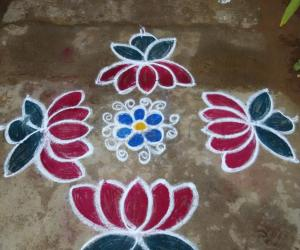 Rangoli: New flowers