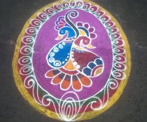 Rangoli:  mehandhi design