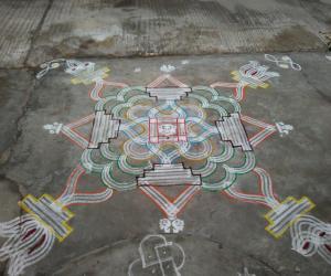 Sri RamaNavami Kolam