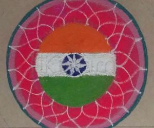 Independence day Special Rangoli