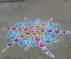 Rangoli: my colourful kolam