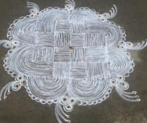 birthday kolam