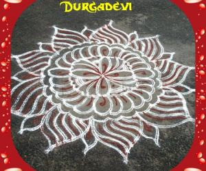 DD Friday kavi kolam