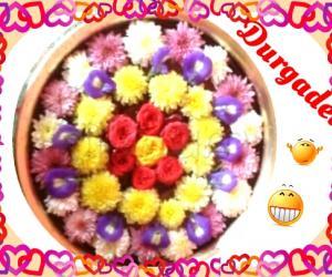 Rangoli: Flower Decoration by DD
