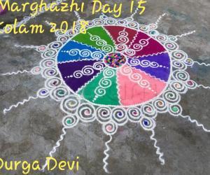 Marghazhi Kolam 2018 Day 19