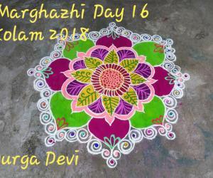 Marghazhi Kolam 2018 Day 16