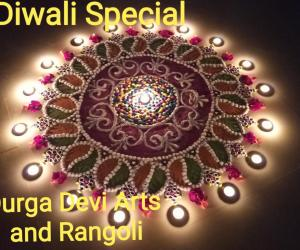 Diwali Rangoli by DD