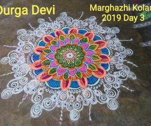 Marghazhi Kolam 2019 Day 3