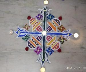 Sivaratri Special Pulli Kolam