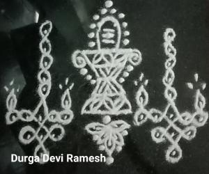 Sivan Diya Kolam for Karthigai Dheepam Special