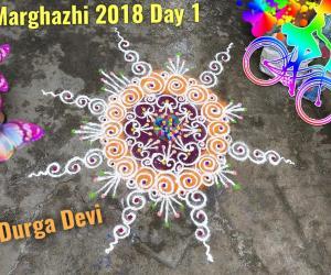 Marghazhi  Rangoli Day 1