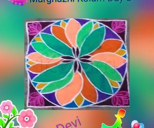 Marghazhi Kolam Day 8