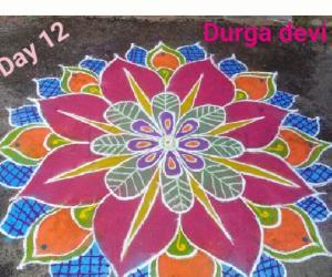 Marghazhi special Colourful mandala kolam