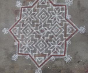 Rangoli: markazhi day 9