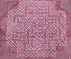 Rangoli: Margazhi 25