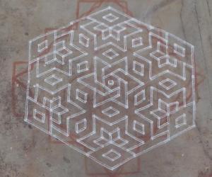 Rangoli: Margazhi 28