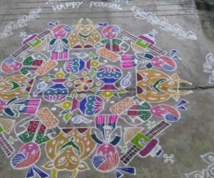 another pongal kolam