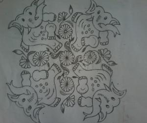 Dancing elephants....