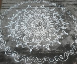Thursday rangoli