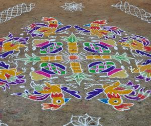 One of my pongal kolam
