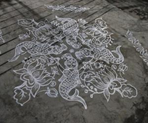 Rangoli: Dhanurmaasam day 20 rangoli