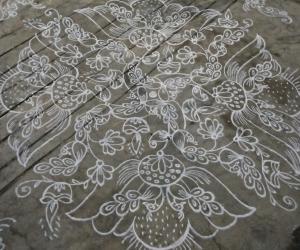 Rangoli: Dhanurmaasam day 22...