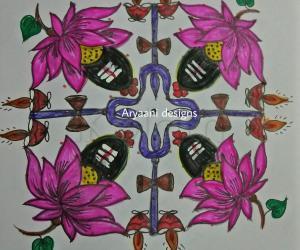 Rangoli: Sivaratri special...