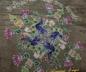 Rangoli: Happy ugadi...
