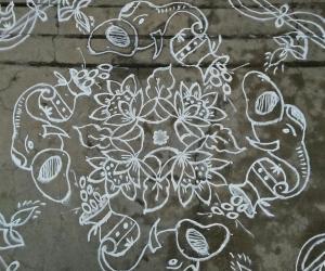 Rangoli: Happy akshya tritiyaa...