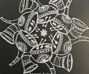 Rangoli: Simple and special...