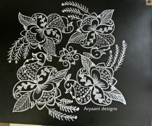 Rangoli: Peacocks..