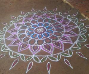 Colourful Rangoli