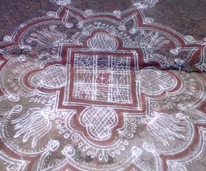 Rangoli: welcome aavani