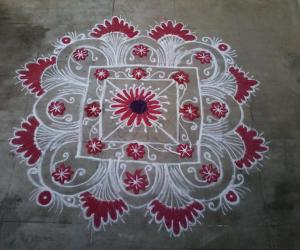 Thursday Special kolam!