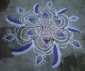 Simple kolam!