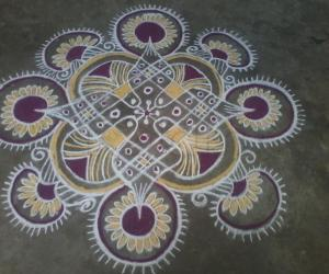 Friday kolam!