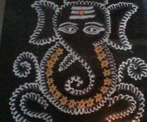 Ganesh Rangoli!